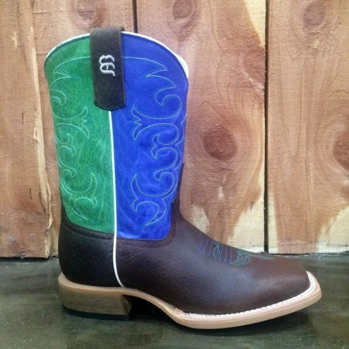 Kid's Anderson Bean Blue & Green Sinsation Boot K7904