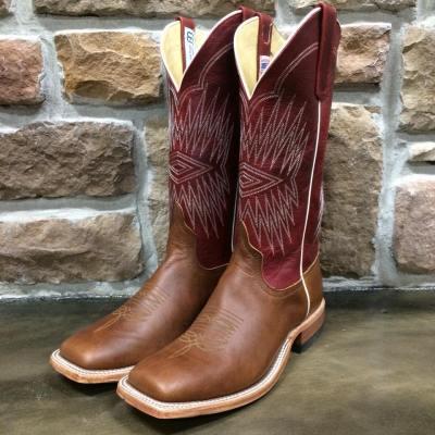 Men's Anderson Bean Black Hawk Chestnut Boot