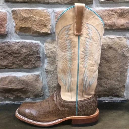Anderson Bean Women's Brown Zebra Boot