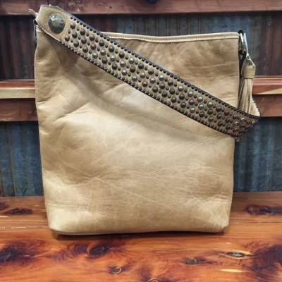 Double J Camel Pull Up Messenger Bag MST33