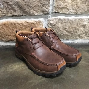 Men's Twisted X Brown Waterproof Hiker Shoe MHKW002