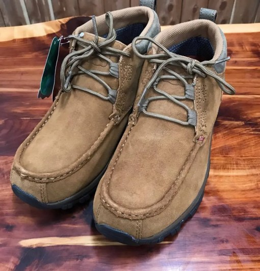 Mens Twisted X Tan Rough Out Hiker Boot MHKW003