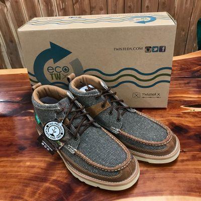 Men's ECO TWX Casual Shoe – Dust/Brown