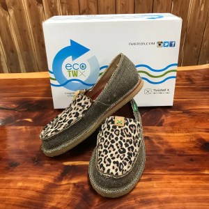 Women's ECO TWX Casual Loafer – Dust/Leopard