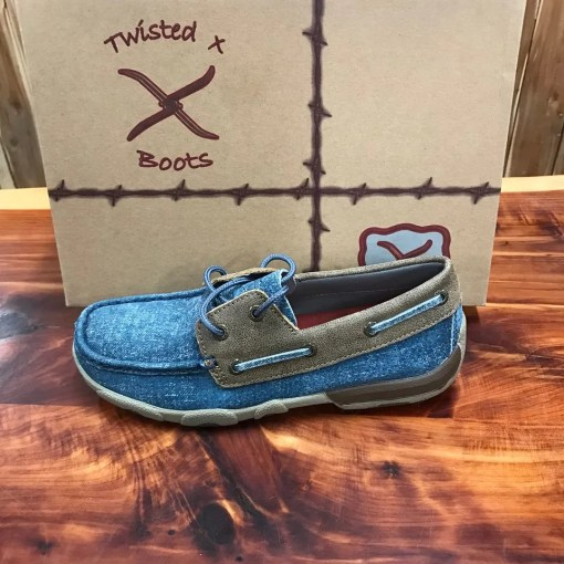 Women's Twisted X Driving Moccasins – Jeans/Bomber WDM0063