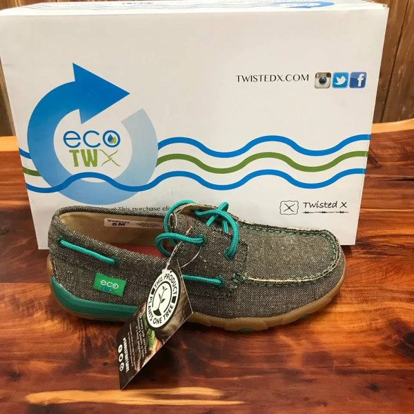 Women's ECO Twisted X Driving Moccasins – Dust WDM0085