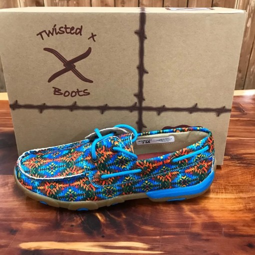 Womens multi canvas twisted X WDM0097