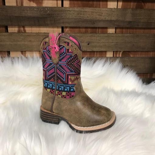 Blazin Roxx Hailey Girls Square Toe Boot 4412802