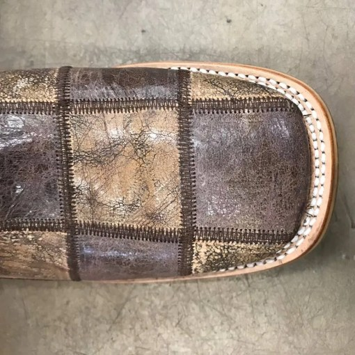 Tin Haul Men's Brown Money Maker Bald Eagle Sole 0342 BR