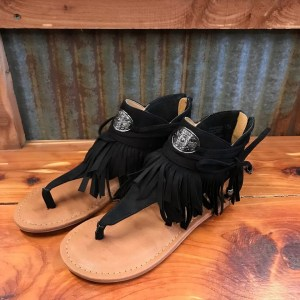NOT RATED BLACK CHIA SANDAL NRSA0340