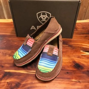 Women's Ariat Pal Brown Serape Cruiser 10018587