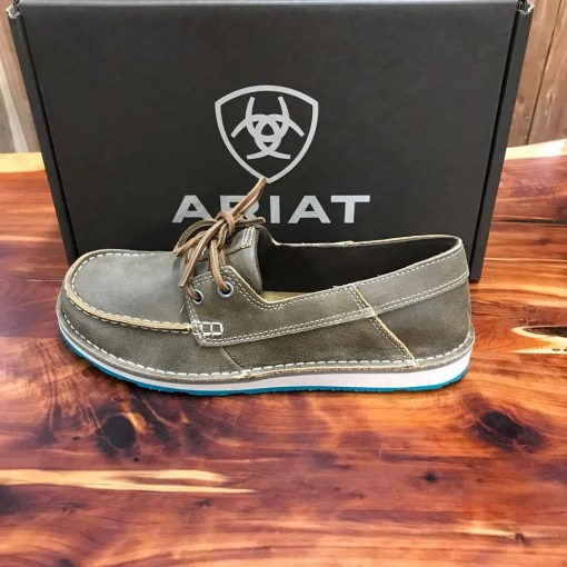 Women's Ariat Castaway Brown Bomber Cruiser 10023017
