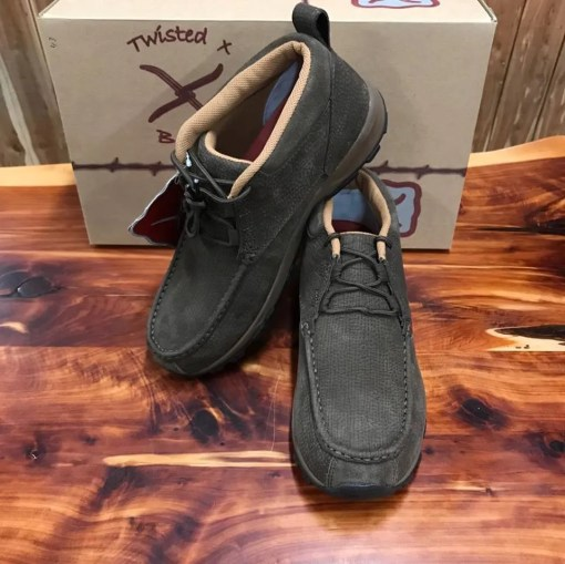 Men's Twisted X Chocolate Hiker Shoe MHK0010