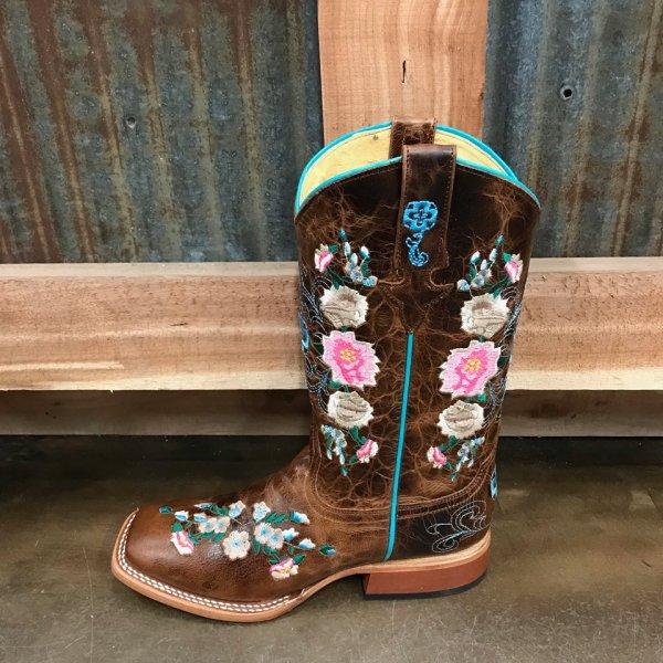 Macie Bean Youth Honey Bunch Cowgirl Boots MK9012