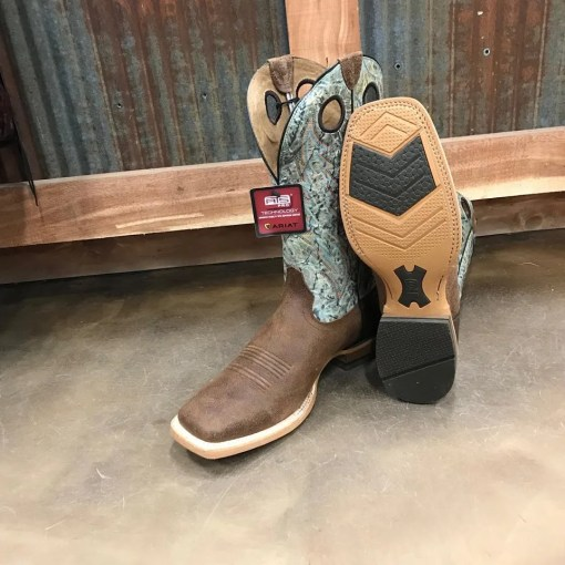 Men's Ariat Branding Pen Square Toe Boot 10023127