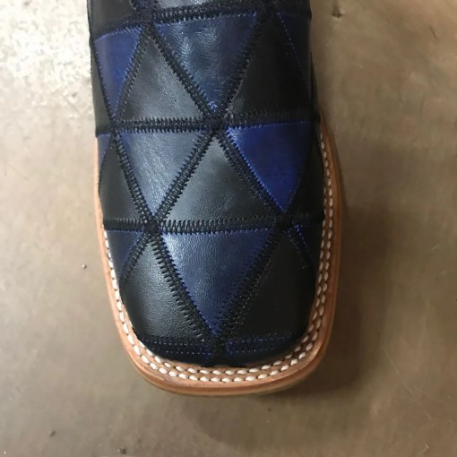 Men's Tin Haul Black N Blue Boot with Torch Sole