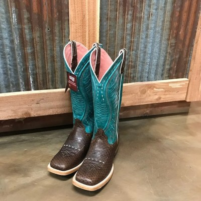 Women's Ariat Vaquera Diamondback Square Toe Boots 10025044