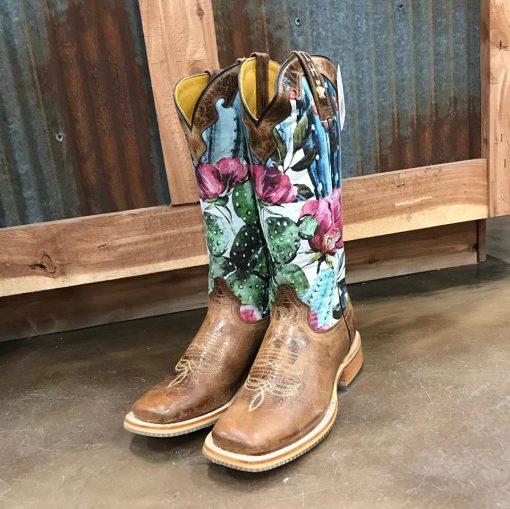 Women's Tin Haul Cactilicious Obvious Sole Boot
