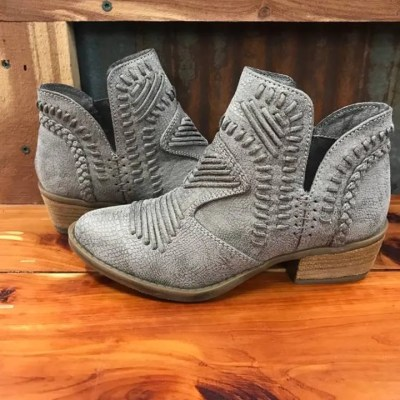 Ladies Not Rated Nosara Grey Bootie