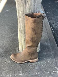 Ladies Ventura Distressed Brown Boot