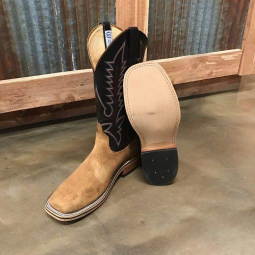 Men's Anderson Bean Teak Roughout Square Toe Boot