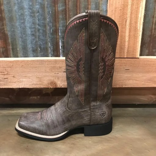 Women's Ariat Round Up Rio Square Toe Boots 10025038