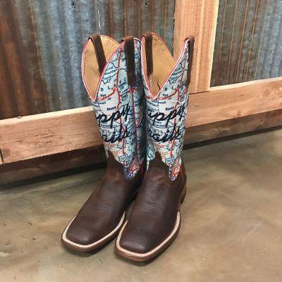 Women's Macie Bean Til We Meet Again Square Toe Boots M9135