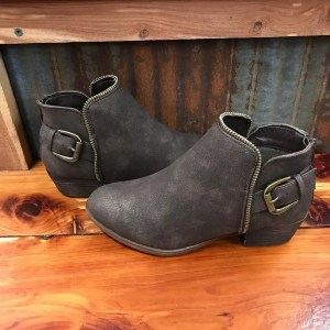 Ladies Boutique Adrienne Bootie in Brown