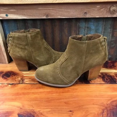 Ladies Minnetonka Melissa Bootie in Dusty Brown
