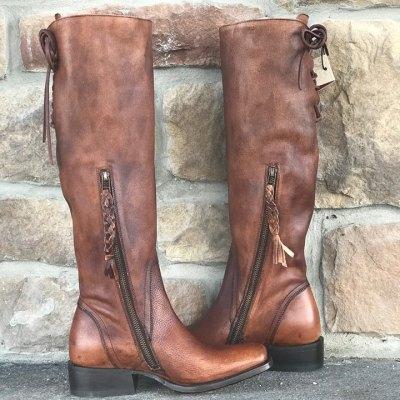 Women's Ariat Sawyer Brown Cognac Knee High Boot 10025155