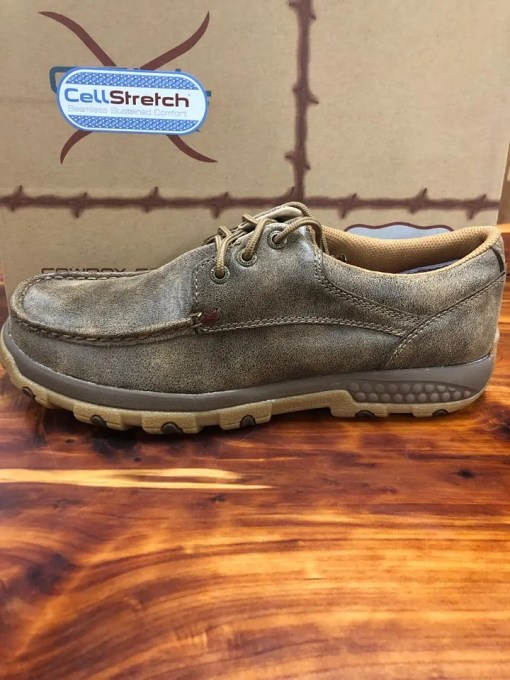 Men's Twisted X CellStretch Casual Bomber Shoe MXC0002
