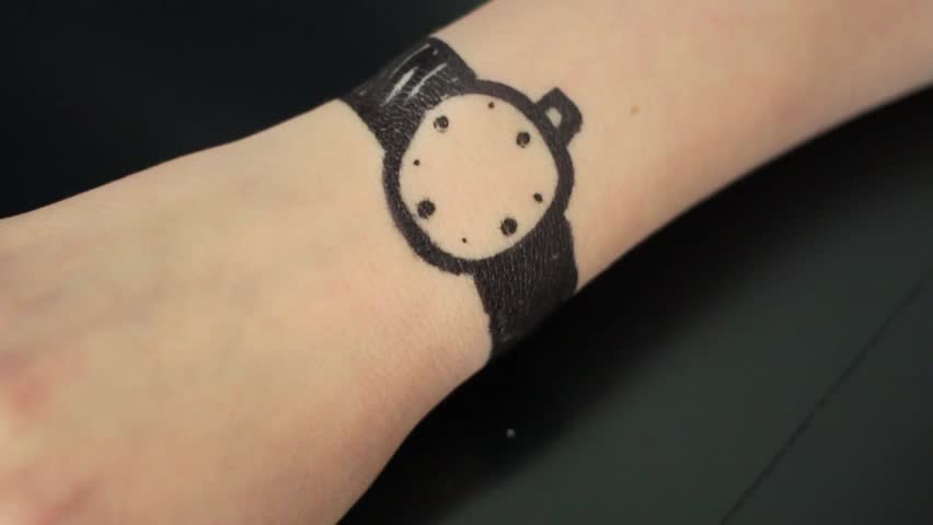 hand drawn watch - worst watches ever
