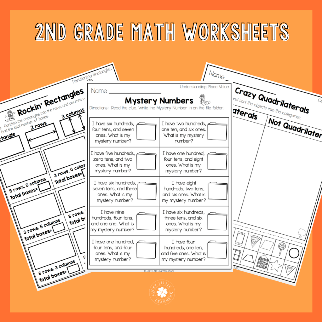 2nd Grade Math Worksheets