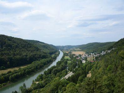Ausblick von Burg Prunn