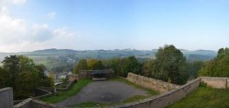 Ausblick von Schloss Wolkenstein