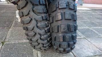 Vergleich Mitas E07 und Michelin Anakee Wild