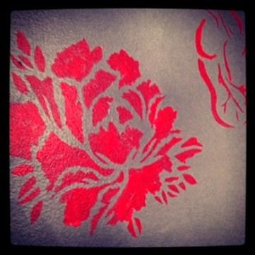Handmade stencil