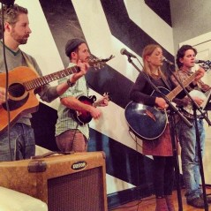"Michigan's talented ""Sugar Beets"" play a few tunes"