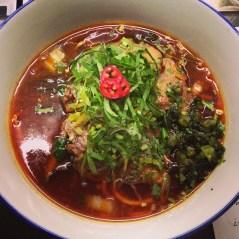 Niu Rou Mein aka Taiwanese Beef Noodle Soup