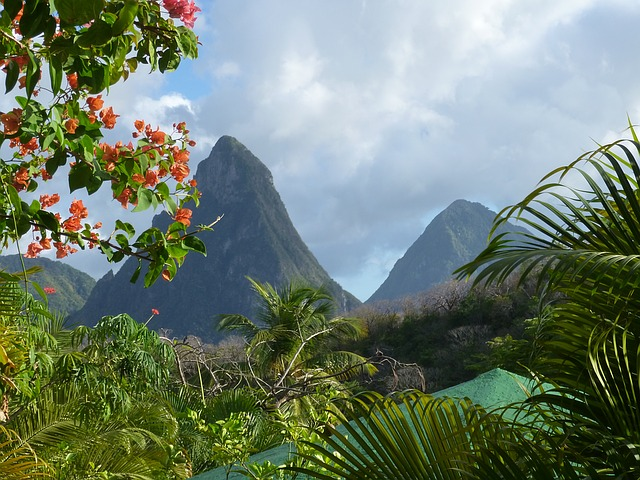 honeymoon in St. Lucia, Caribbean honeymoon destination