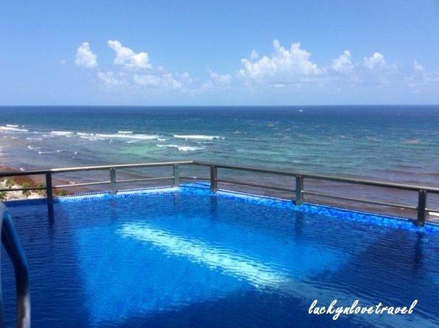 riviera maya mexico honeymoon, el dorado infinity suite