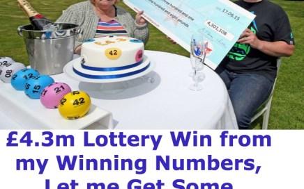 Winning Numbers