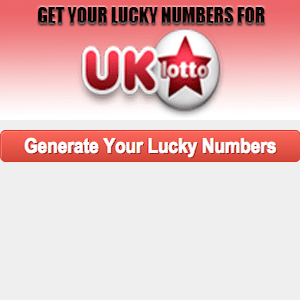 Lucky Numbers for UK National Lottery