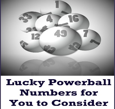 Lucky Powerball Numbers2