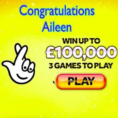 Daily Prize Draw Winner 30-08-2020