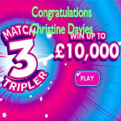 Daily Prize Draw Winner 15-09-2020