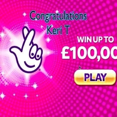 Daily Prize Draw Winner 12-10-2020