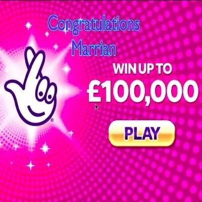 Daily Prize Draw Winner 25-10-2020