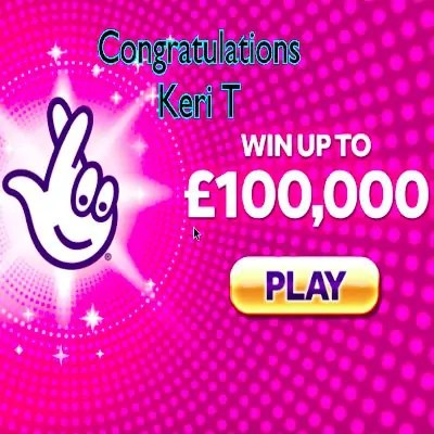 Daily Prize Draw Winner 12-11-2020