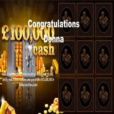 Daily Prize Draw Winner 15-12-2020